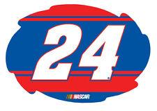 """NASCAR #24 Chase Elliott 5""""x6"""" Swirl w/ Stripe Design Magnet-NEW for 2016!"""