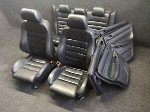 Lederausstattung Innenausstattung Audi S4 A4 B5 Avant Sportsitze schwarz SOUL