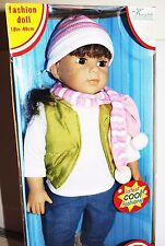 """NIB Kingstate Dollcrafter FRIENDS FOREVER 18"""" Doll FRIENDSHIP KIDS COLLECTION"""