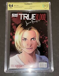 ANNA PAQUIN SIGNED TRUE BLOOD #4 COMIC BOOK CBCS 9.4 SOOKIE STACKHOUSE CGC HBO