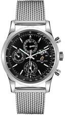 Breitling Transocean Chronograph 1461 Black Dial Men's Watch A1931012/BB68-154A