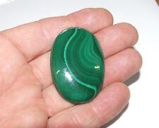 Natural earth-mined  Malachite cabochon specimen...149.3 carat!