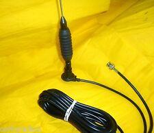 Blaster 3 dB de ganancia Bobina de taxi Antena Cuerpo Montaje completa 168 -175 MHz Vhf PMR Bnc