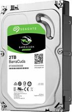 Seagate - Barracuda 2TB Internal SATA Hard Drive for Desktops