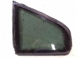 Rear Left Driver Window Quarter Glass   Fits 1998-2005 Volkswagen Passat