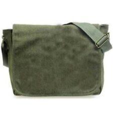 Messenger Shoulder Bag Rucksack Canvas Haversack Military Vintage Retro Casual