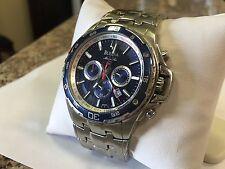 Men's Bulova Marine Star Watch Blue Dial Date C835215
