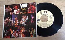 "45 tours WAR ""live"" Ballero funk 1973 M-/EXC"