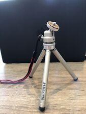 "Hakuba Mini Camera Tripod - 6"" w/ Extendable Leg Length, Swivel Head, Soft Feet"
