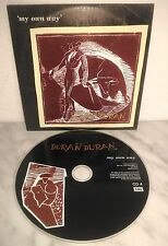CD DURAN DURAN - MY OWN WAY / LIKE AN ANGEL - SINGLE