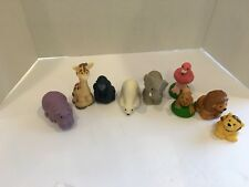 Fisher Price Little People Zoo Talkers Animals Flamingo Hippo Ape Polar Bear Kan