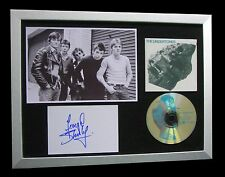 THE UNDERTONES+SIGNED+FRAMED+TEENAGE KICKS+JIMMY=100% AUTHENTIC+FAST+GLOBAL SHIP