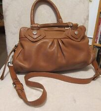 Marc by Marc Jacobs Classic Q Groovee Satchel Bag Cinnamon w/Gold Hardware