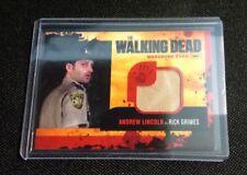 THE WALKING DEAD SEASON 1 ANDREW LINCOLN/RICK WARDROBE CARD M1