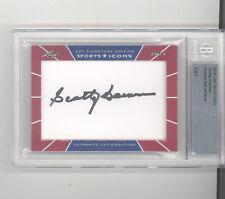 Scotty Bowman auto autograph card /7 2014 Leaf Sports Icons Blackhawks HOF