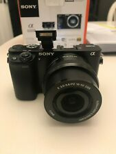 Sony ILCE-6000L Alpha 6000 Camera with 16-50mm Lens - Black
