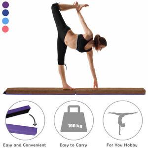 7FT Sectional Gymnastics Floor Balance Beam Skill Performance Training Foldable