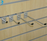 "Slatwall Hook Pin Shop Display Fitting Prong Slim Design Eco 2"" 4"" 6"" 8"" 10"" 12"""