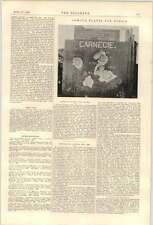 1900 Electric chemin de fer clandestin pour New York 1 plans cartes géologie