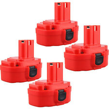 4 x 18 Volt 18V 2.0AH  Battery for MAKITA 1822 1823 1833 1834 1835 Cordless Dril