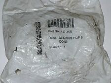 Raymond 447-105 Taper Roller Bearing Cup & Cone, New
