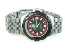 TAG Heuer Formula 1 WA1214 Black Dial Ratchet Glass Case Back Unisex Watch