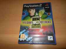 Ben 10 Alien Force: Vilgax Attacks (Sony PlayStation 2,ps2 NEW SEALED pal