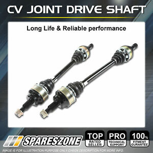 LH + RH CV Joint Drive Shafts for Daihatsu Charade G102 G203 Pyzar MAN 1989-2001