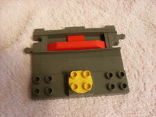 LEGO DUPLO THOMAS THE TANK ENGINE TRAIN TRACK GREY TRAIN STOP PLATE
