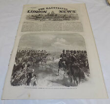 6/16/1866 Issue ILLUSTRATED LONDON NEWS/Tellurion Globe/Hampton Races/Yacht Club