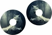 Wheelchair Spoke Guard Skins Dreamy Wolf Mobility Sticker 1199