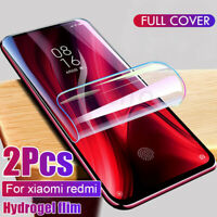 Full Cover Hydrogel Film For Xiaomi Redmi Note 8 Pro Protective Screen Protector