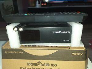 ZGEMMA H9S 4K/UHD SatelliteTV Reciever , Linux DVB S2X