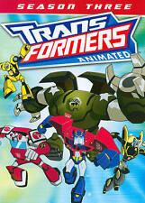 TRANSFORMERS ANIMATED - SEASON THREE (2 Disc Set) DVD [V45]