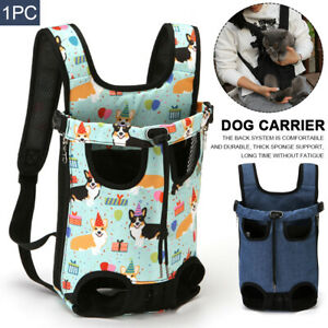 Comfortable Dog Carrier Walking Outdoor Travel Front Facing Pet Puppy Legs Out