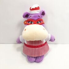 "Disney Junior Doc McStuffins Plush Nurse Hallie The Hippo 8"" Stuffed Animal Toy"