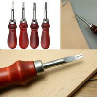 Leathercraft Edge Beveler Skiving Craft Set Leather Trimming Handmade DIY Tools