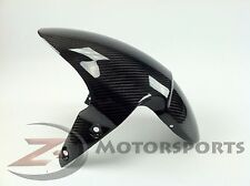 2007-2017 Street Triple 675 675R Front Tire Fender Mud Guard Cowl Carbon Fiber