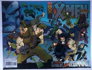 Marvel X-Men Alpha #1 Age of Apocalypse Virgin Chrome Cover Joe Madureira Art