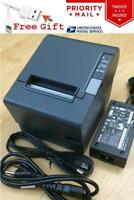 Epson TM-T88IV M129H POS Thermal Receipt Printer USB Port w/ PS-180 Power Supply