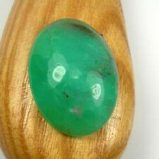 Oval 28x21mm Cabochon Natural Australian Chrysoprase Gemstone 29.32 carats. AC35