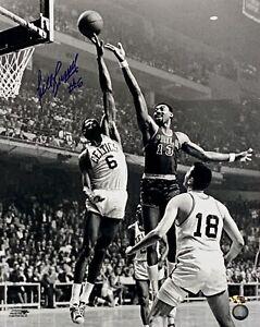Bill Russell vs. Wilt Chamberlain Signed 16x20 Photo Autographed Rich Altman COA