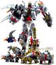 Transformers 5in1 Dinoking Volcanicus Grimlock Dinobot Oversized Figure Toys BMB