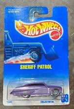 Hot Wheels Factory Error Car Purple Passion on Sheriff Patrol #59 Card GB