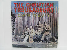 "The Christian Troubadours ""Down To Earth"" vinyl LP Heritage GH 1026 MODESTO, CA"