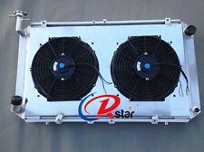 FOR NISSAN Patrol GQ 2.8 4.2 DIESEL TD42 & 3.0 PETROL Y60 Radiator+SHROUD+2XFANS