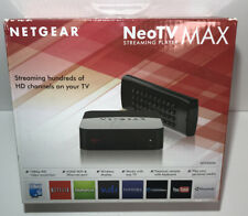 NetGear NeoTV MAX 1080P HD TV Streaming Media Player Console Streamer+Keyboard