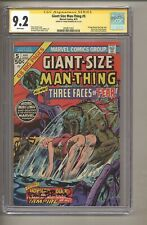 Giant-Size Man-Thing #5 (CGC Signature Series 9.2) Frank Brunner; 1975 (c#27951)
