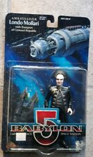 Babylon 5 Ambassador Londo Mollari with Transport Action Figure Mib sci-fi