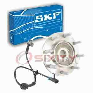 SKF Front Axle Bearing and Hub Assembly for 2000 Chevrolet C35 Driveline xv